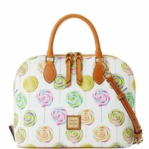 Dooney & Bourke Lollipop Zip Zip Satchel NWT